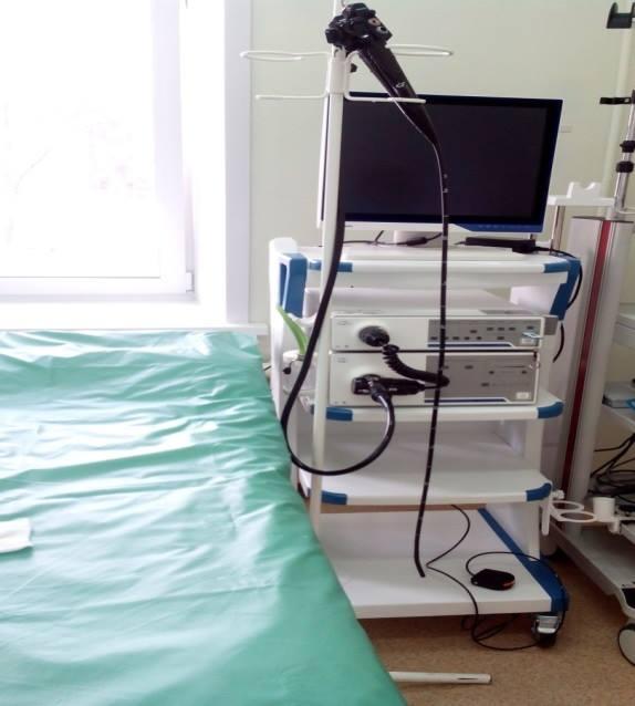 Детская поликлиника Усольской городской больницы получила новое оборудование  Очередная партия современного сверхточного оборудования поставлена в Усольскую  городскую  больницу, на этот раз – в детскую поликлинику. Приобретен эндоскопический видеоко…