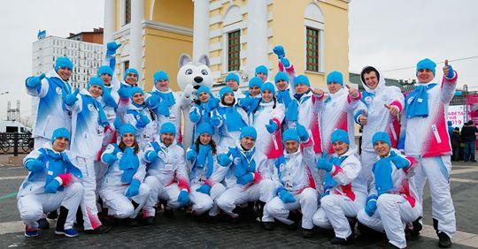 Иркутские доноры приняли участие в эстафеты огня Зимней универсиады-2019
