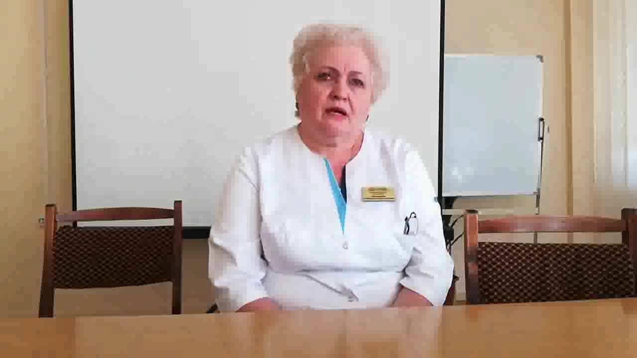 Посмотреть видео «Винокурова Валентина Александровна – заведующая отделением первичной специализированной медико-санитарной помощи»