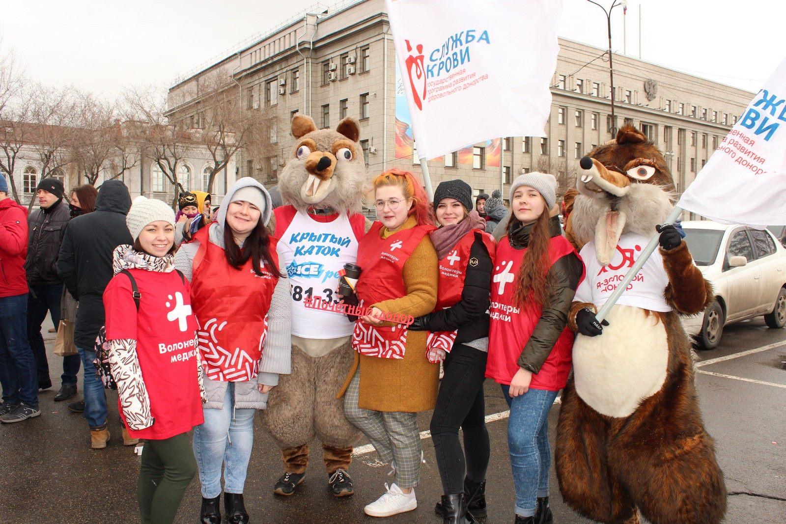 Национальный день донора крови отметили в Иркутске  19 апреля на площади у здания Правительства Иркутской области состоялась акция, посвященная Национальному дню донора крови. С 9 часов до 13 часов работал мобильный пункт заготовки крови, в котором в…