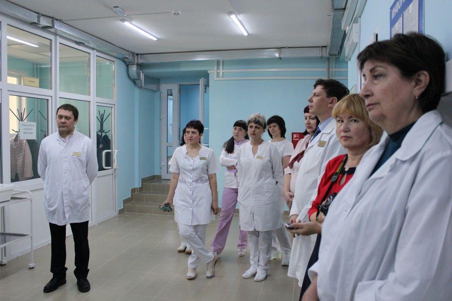Саянский филиал туберкулезной больницы открылся после капремонта – Областная газета