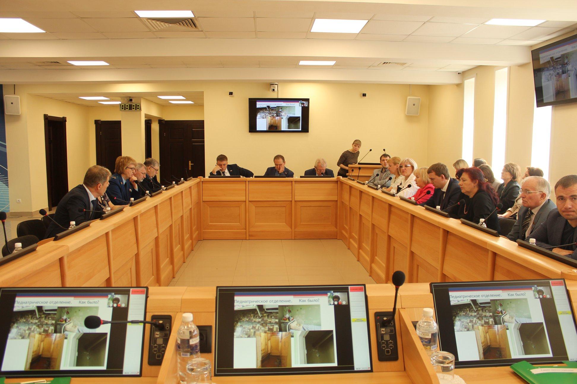 Состоялось заседание комитета по здравоохранению и социальной защите Законодательного Собрания Иркутской области, на котором был рассмотрен вопрос о реализации «Дорожной карты» по совершенствованию организации медицинской помощи на территории г. Усть…