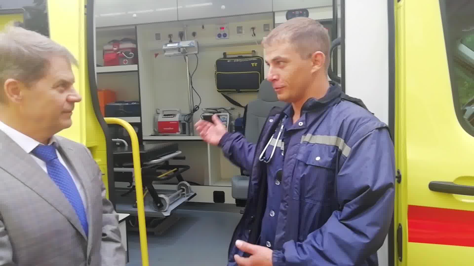 Посмотреть видео «Станислав Мельников Подстанция №1 ОГБУЗ «ИССМП»»